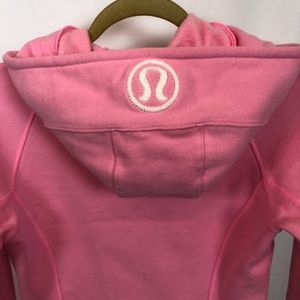 Lululemon Scuba Hoodie Stretch in Pink Shell